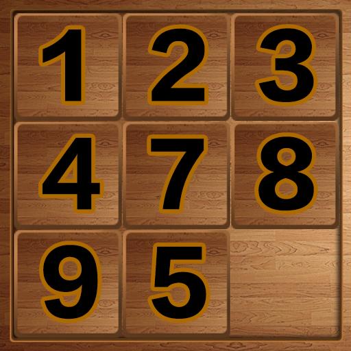 数字推盘解谜游戏